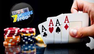 Aturan Main Seven-Card Stud Hampir Sama Dengan Texas hold'em